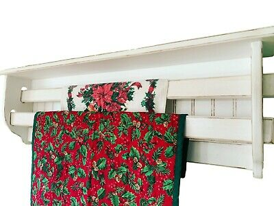 Quilt Rack for 2 Quilts | Blanket Hanging Rack