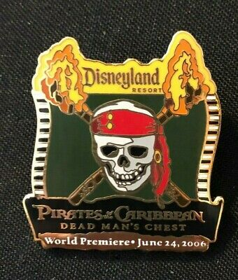 disney trading pin limited edition pirates of the caribbean dead men's chest