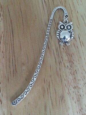 Novelty Silver Coloured Bookmark Gift ? - Chunky Owl