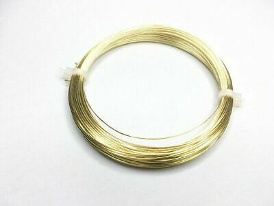 Solid Brass Wire Non Tarnish  0.2mm,0.4mm,0.6mm, 0.8mm, 1mm, 1.25mm or 1.50m