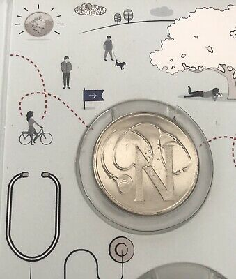 NEW A-Z 2018 ALPHABET 10p COIN HUNT - LETTER N - N FOR NHS - RARE