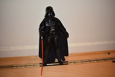 "Darth Vader Hasbro-Star Wars 1/6 Scale 14"" talking with removable helmet"