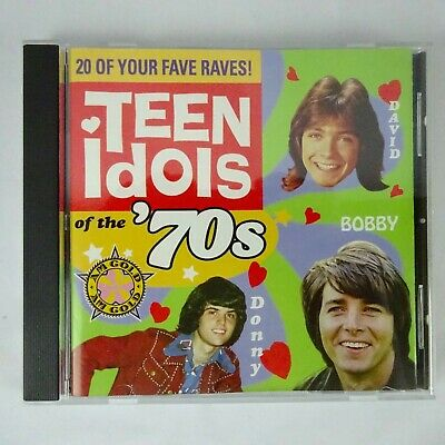 AM Gold Teen Idols of the 70s Various Artists CD 1999 Time Life Records