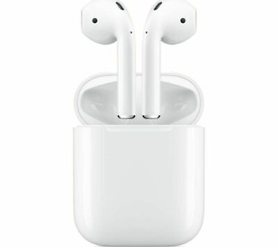 Used- APPLE AirPods with Charging Case  - White