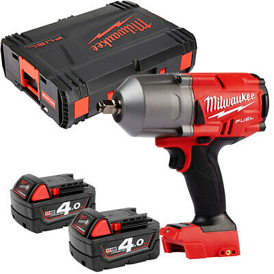 Milwaukee M18FHIWF12 18V Fuel Gen 2 Impact Wrench With 2 x 4Ah Batteries & Case