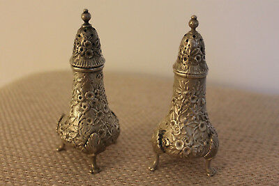 Antique salt and pepper shakers S. Kirk and Son