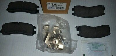 89032633 Brake Pads !+New AC Delco 17D459C
