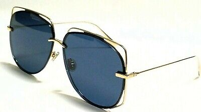 f8c1d8b7dd New Authentic Christian Dior STELLAIRE 6 J5G A9 Gold Grey Lens 61mm  Sunglasses