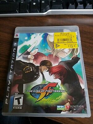 The King of Fighters XII (Sony PlayStation 3, 2009, PS3) COMPLETE!