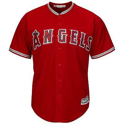 Los Angeles Angels Majestic MLB AC Cool Base Replica Jersey - Red