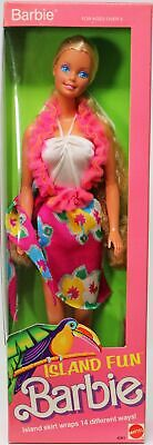 Island Fun Barbie Doll #4061 New Never Removed from Box 1987 Mattel, Inc. 3+