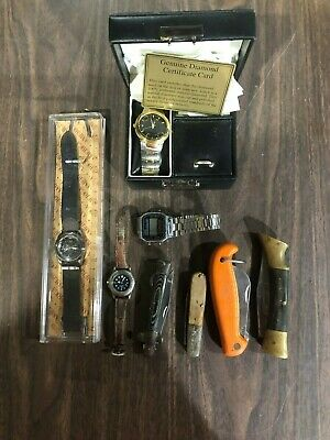 Lot of Vintage Watches - Knifes