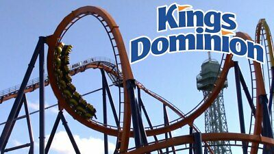(4) Four Tickets to Kings Dominion (4 tickets for $99.99) Free / Fast Shipping