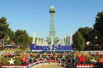 (4) Four Tickets to Kings Island (4 tickets for $99.99) Free / Fast Shipping