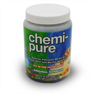 Boyd Chemi-Pure 10oz Aquarium Filter Media Treats 50 gallons