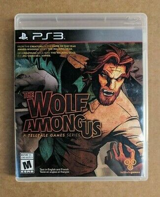 The Wolf Among Us (Sony PlayStation 3, 2014) Video Game - Complete w/ Manual