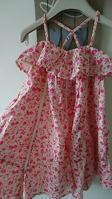 Next girl summer party holiday dress 3 years BNWT RRP £19 beautiful