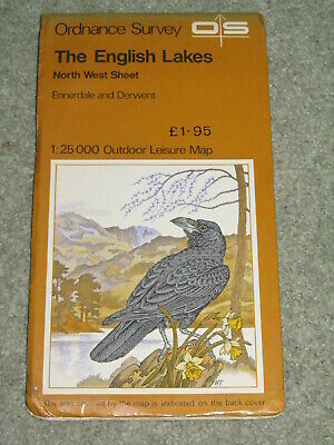 OS Ordnance Survey Outdoor Leisure - The English Lakes - North West sheet