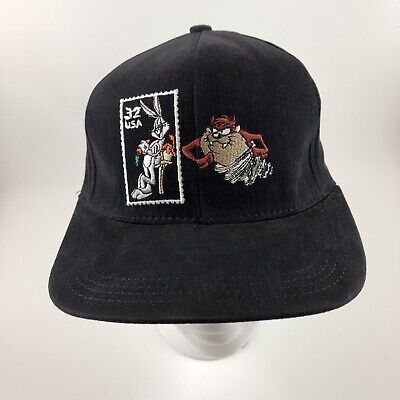 Vintage Looney Tunes Stamp Collection Snapback Bugs Bunny Taz