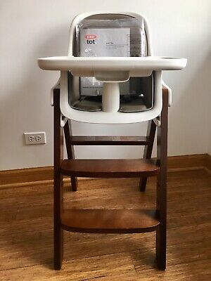 Marvelous Oxo Tot Sprout High Chair Green Walnut Brand New Beatyapartments Chair Design Images Beatyapartmentscom