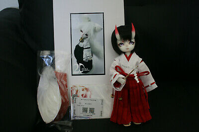 2D Doll Meiji 1/6 28cm BJD White Skin Ball Jointed Doll CoA Clothing Faceup Wig