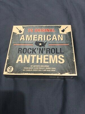 Various Artists - American Rock 'N' Roll Anthems (2011)- NEW/SEALED - CD