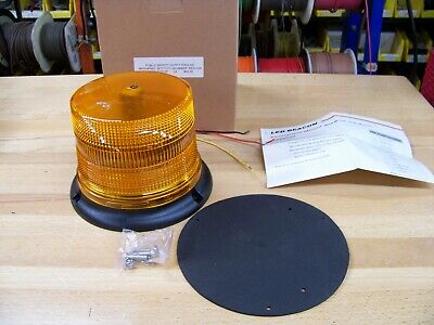 Brooking B17 low dome  amber beacon