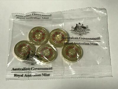 2019 Repatriation Anzac $2 Coin & AIATSIS Indigenous Languages 50c Cent UNC Coin