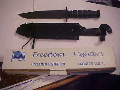 NEW, IN THE BOX Ontario Freedom Fighter FF6 Knife & Sheath - NOT A 2ND!!