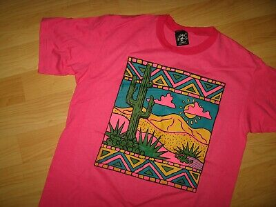 Cocoa Beach Tattoo Maglietta - Vintage Rosa Florida Space Coast USA T Medium