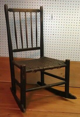 Antique Shaker Ladies Rocking Chair, Beautiful!