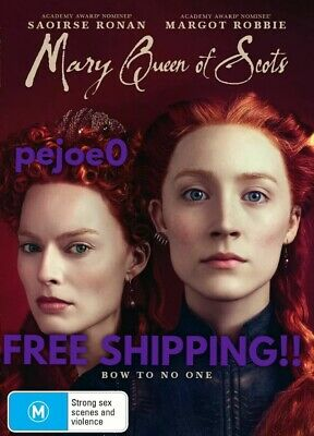 Mary Queen Of Scots DVD Reg 4 FREE POST! New! 2018