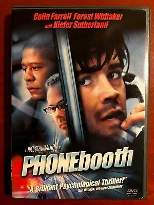 Phone Booth (DVD, 2002) - F0428