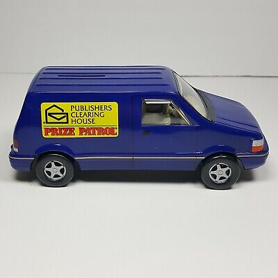 PUBLISHER'S CLEARING HOUSE Prize Patrol Blue Van - 1996 - Piggy Bank