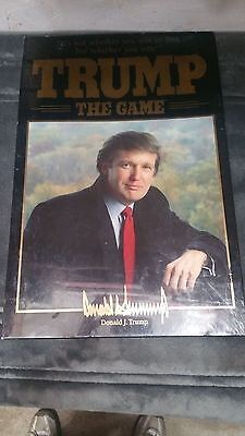 1989 Trump The Game Donald Trump FACTORY SEALED Milton Bradley