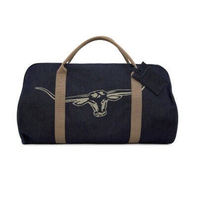 RM Williams Denim Overnight Bag