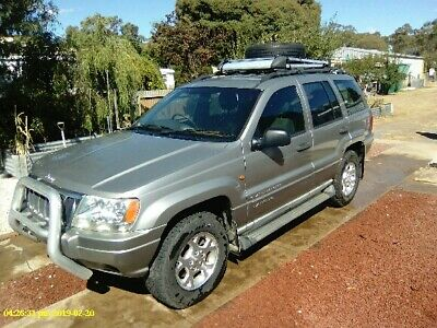 Jeep Grand Cherokee Duel Fuel  Lpg No Beach Driving