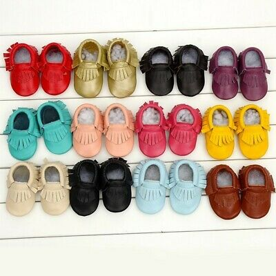 MaMaLoNi Baby Boys and Girl Shoes Moccasins Soft Sole Patent Leather Kids Shoes