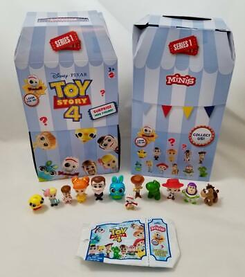 Toy Story 4 Minis Blind Bag Figures Full sets of all 12 or Buy Singles Forky Too