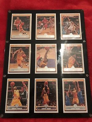 Marco De Metracrilato Con Trading Cards Topps Angeles Lakers 2006 Kobe Bryant