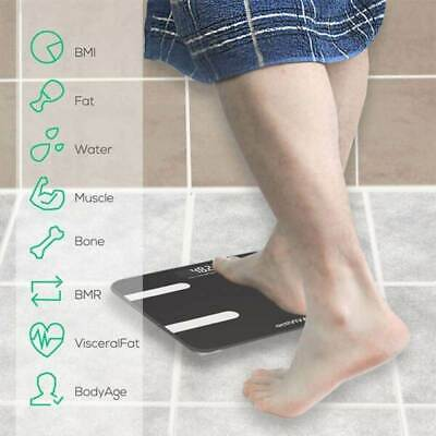 Mbeat actiVIVA Bluetooth BMI and Body Fat Smart Scale with Smartphone APP
