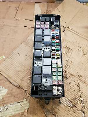 Range Rover sport 2006 10 main fuse board and relays