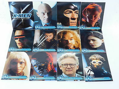 X Men 'The Movie' Full 72 Card Trading Card Base Set from Topps