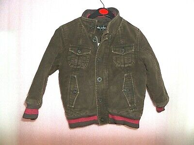 Boys Brown Marks And Spencer Autograph Winter Coat Age 4-5 Years