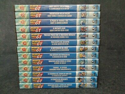 Box Dragon Ball Gt - Sequenza Completa De Agostini 1/13 - Ottimi P14 - Lv