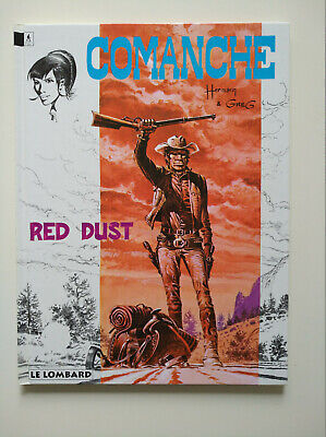 RE 1994 (comme neuf) - Comanche 1 (Red Dust) - Hermann & Greg - Lombard