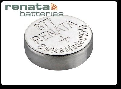 Renata 377 - Sr626Sw  1.55V Silver Coin Cell Batteries