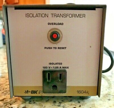 B&K Precision Isolation Transformer 1604 - Works