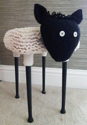 Novelty handcrafted stool