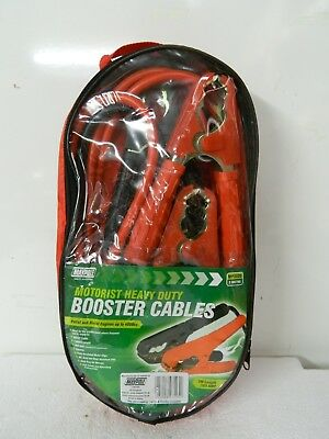MAYPOLE HEAVY DUTY BOOSTER CABLES FOR ENGINES UP TO 4000cc REF 545/B2R